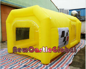 Details about custom made certified portable giant Oxford cloth inflatable  spray booth paint