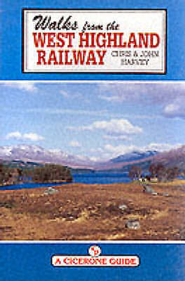 1 of 1 - Walks from the West Highland Railway (Cicerone Guide), Good Condition Book, Harv