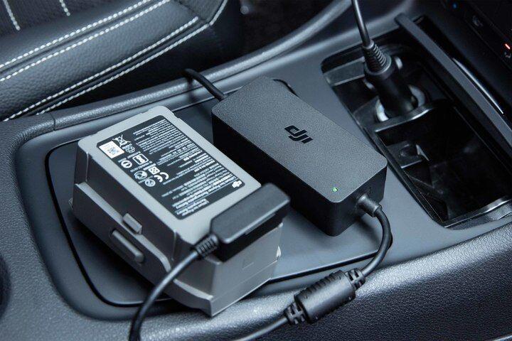Original DJI Mavic 2 pro zoom Intelligent fast charge Car Charger C4580 part