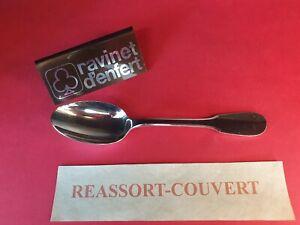 Spoon-Stand-Mocha-10-5-cm-Old-Paris-Ravinet-D-Enfert-Bel-Condition-Metal-Silver