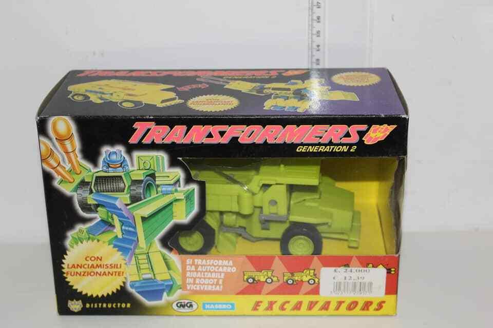 Transformers G2 Constructicons Excavators Rollo Distructor Hasbro Gig