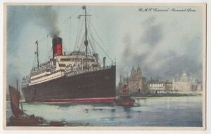Cunard Line RMS Majestic Shipping Art Postcard B616 - <span itemprop=availableAtOrFrom>Aberystwyth, United Kingdom</span> - IF THE GOODS ARE NOT AS DESCRIBED PLEASE RETURN WITHIN 14 DAYS OF RECEIPT FOR FULL REFUND. Most purchases from business sellers are protected by the Consumer Contract Regulations 2013 - Aberystwyth, United Kingdom