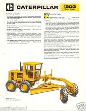 Equipment Brochure - Caterpillar - 120G - Motor Grader - c1981 (E2013)