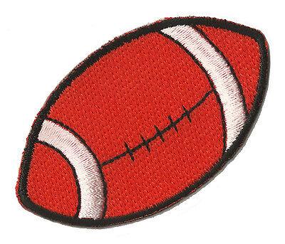 Ballon Rugby Football Américain Patch Sport Écusson Tissus