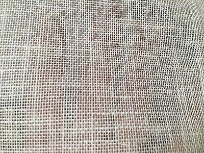 coupon de tissu  lin leger  blanc  ab    3 m ; Ref    ref pant