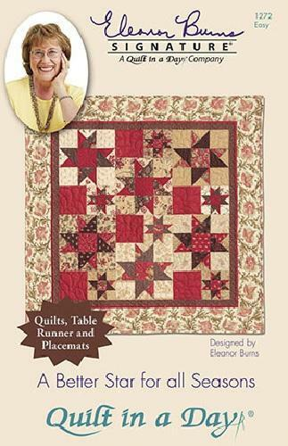 Eleanor Burns Quilt in a Day Multiple Designs Choose One New