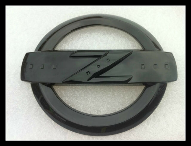 350Z SUPER HIGH GLOSS BLACK Z LOGO BADGE EMBLEM BODYKIT GT 350 Z FAIRLADY