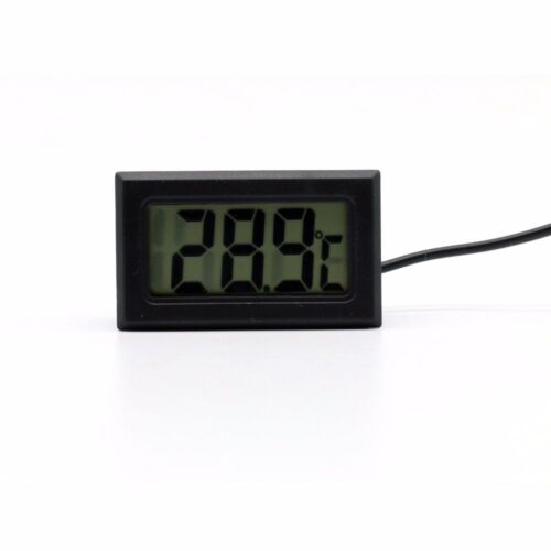 110°C UK LCD Digital Fridge Thermometer for Refrigerator Freezer 50°C