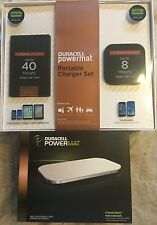 Duracell Bundle Powermat 8 & 40 Hr Power Bank Set, Plus Powermat. Cell, Tablet