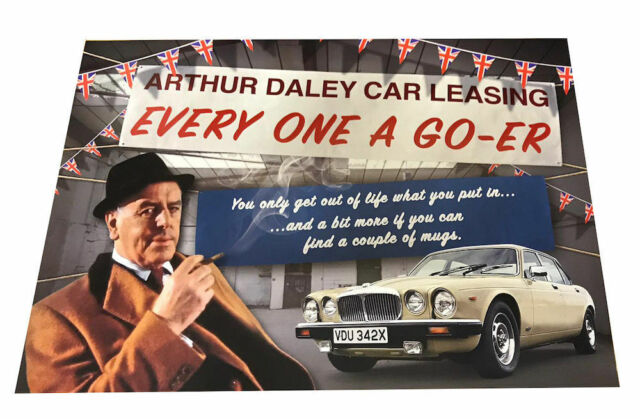 Minder Arthur Daley Great New POSTER Copy Autos