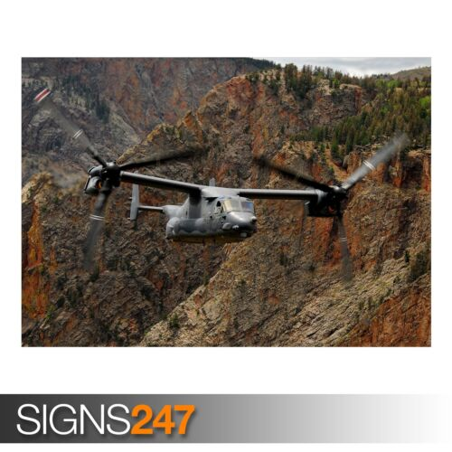 ARMY POSTER USAF V-22 OSPREY AC203 Photo Picture Poster Print Art A0 to A4