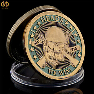 1775-Heads-We-Win-Tails-You-Lose-Skull-Gold-Plated-Commemorative-Challenge-Coin