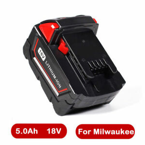 18V-5000mAh-Lithium-Ion-XC-5-0-Batterie-pour-Milwaukee-M18-M18B4-48-11-1828