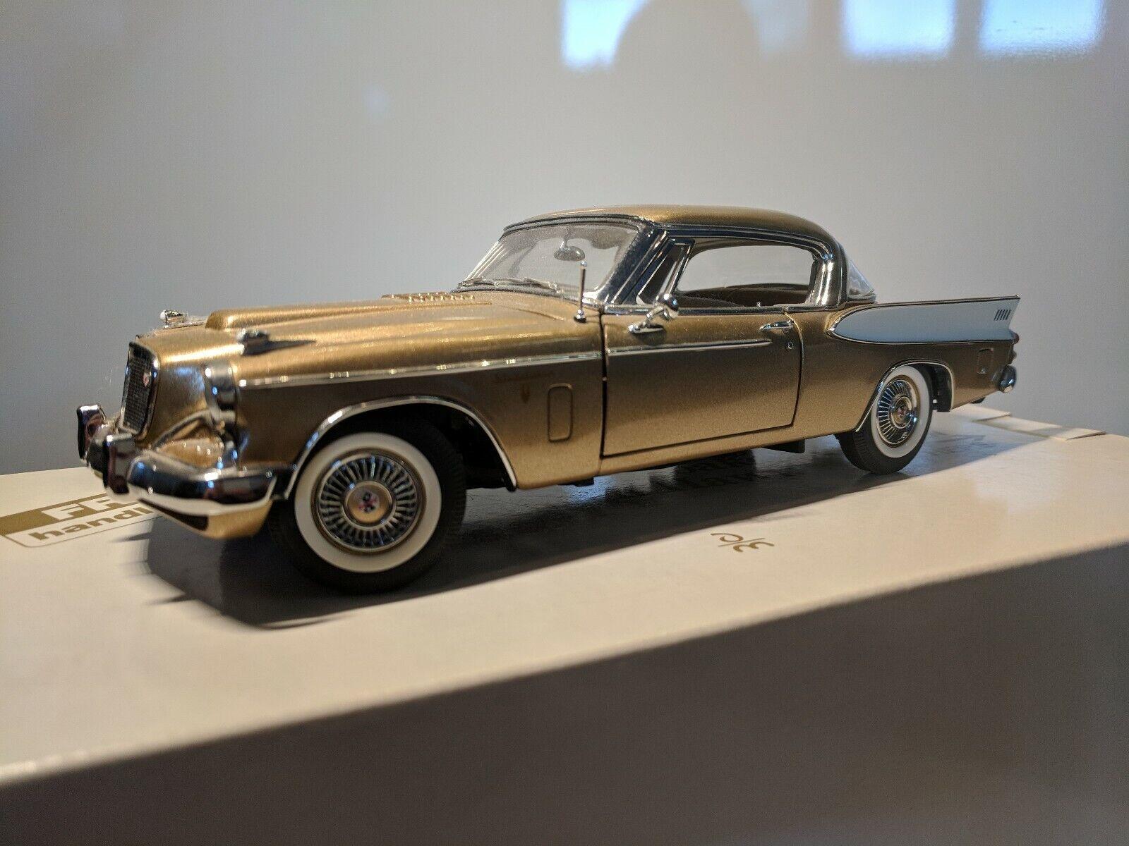 Danbury Comme neuf Studebaker oren Hawk 1957 Diecast voiture Boîte sans papiers