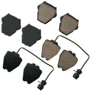 Disc Brake Pad Set-Euro Ultra Premium Ceramic Pads Front Akebono EUR1319
