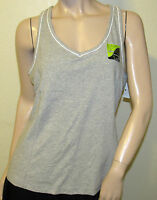Athletech Xl Gray Racerback Tank Moisture Wicking Running Tennis Fitness