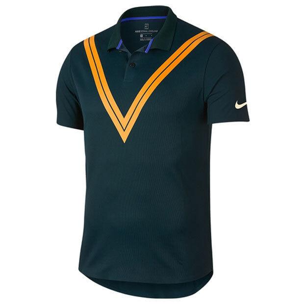 Nike Court Techknit RF Polo Sz XL Advantage Roger Federer 939080-303 for  sale online  7343411a2