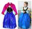 thumbnail 8 - Kids-Girls-Princess-Queen-Anna-Halloween-Cosplay-Costume-Fancy-Dress-amp-Crown1