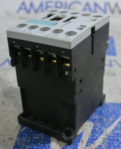 120V 60Hz *USED Siemens 3RT1015-1AK61 Contactor 110V 50Hz