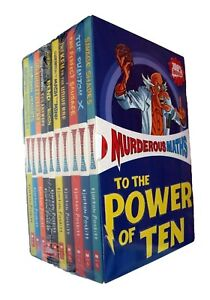 Murderous-Maths-10-Books-Box-Set-Kids-Learning-Children-Activity-Boys-Girls-New