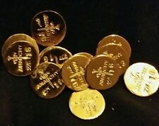 1 GRAM BAR USA BULLION 1g 22K PLACER FINE GOLD ROUND FROM MINE Y LOT 21 ANARCHY