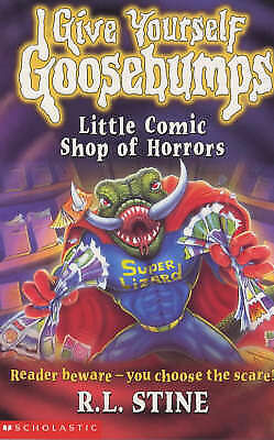 (Good)-Little Comic Shop of Horrors (Give Yourself Goosebumps) (Paperback)-R.L.