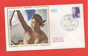 FDC 1983-República -La Libertad De Gandon (1197)