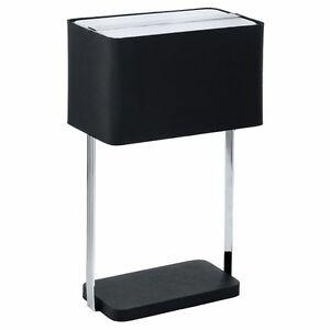 Lampe-de-Table-Jamela-Veilleuse-Lampe-Noir-E27-Egalement-pour-Led-Eglo