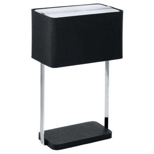 Tischleuchte Tischlampe Jamela Nachtlicht Lampe schwarz E27 auch für LED Eglo