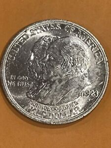 Charles Coin Collection 1923-S Monroe Doctrine Commemorative Half Dollar
