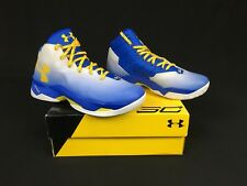 c1f6dc8a51c4 item 3 Under Armour UA Curry 2.5 Basketball Shoes Size 11 Blue Yellow White  1274425-103 -Under Armour UA Curry 2.5 Basketball Shoes Size 11 Blue Yellow  ...