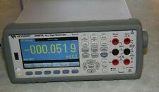 Keysight 34461a 6 12 Digit Truevolt Multimeter Withtest Leads Near Mint Agilent