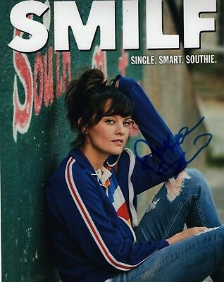Dashing Frankie Shaw Smilf Actress Hand Signed 8x10 Autographed Photo Coa Look Television Autographs-original