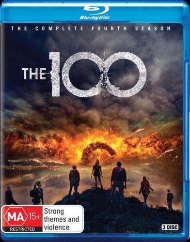 1 of 1 - The 100 : Season 4 (Blu-ray, 3-Disc Set) NEW