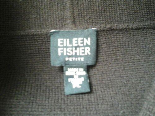 Fisher Cardigan L Italiensk Brun Blazer Eileen Smuk P Størrelse Excellent Kjole UPa5wwq
