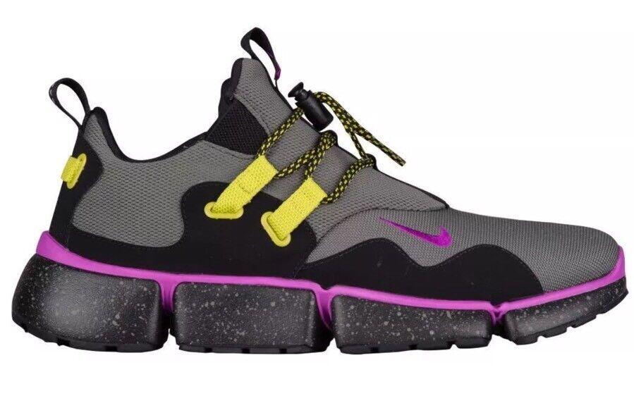 130 Nike Pocketknife DM SU Mens Sz 12 Shoes River Rock/Violet/Black AH9709-001