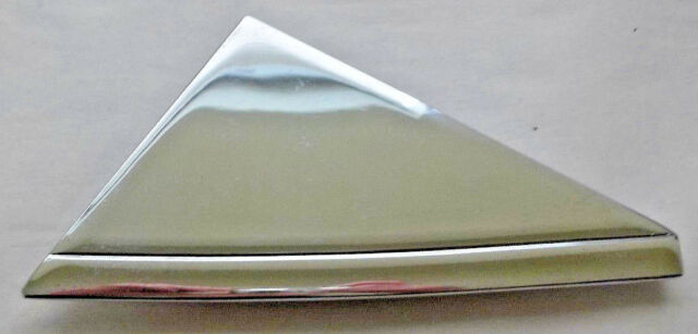 Mercedes Mirror Trim Outer Chrome Metal Plate Passenger 123 Chassis