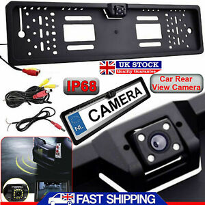 170-Car-Rear-View-Reversing-HD-Camera-Back-Up-Parking-Plate-Night-Vision-IR-LED
