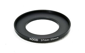 37mm to 55mm 37-55  Stepping Ring Filter Ring Adapter Step up