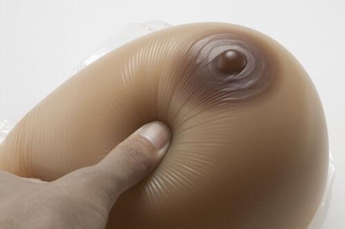 Full Size Crossdresser Transvestite Fake Silicone Breast Boobs Form False Breast