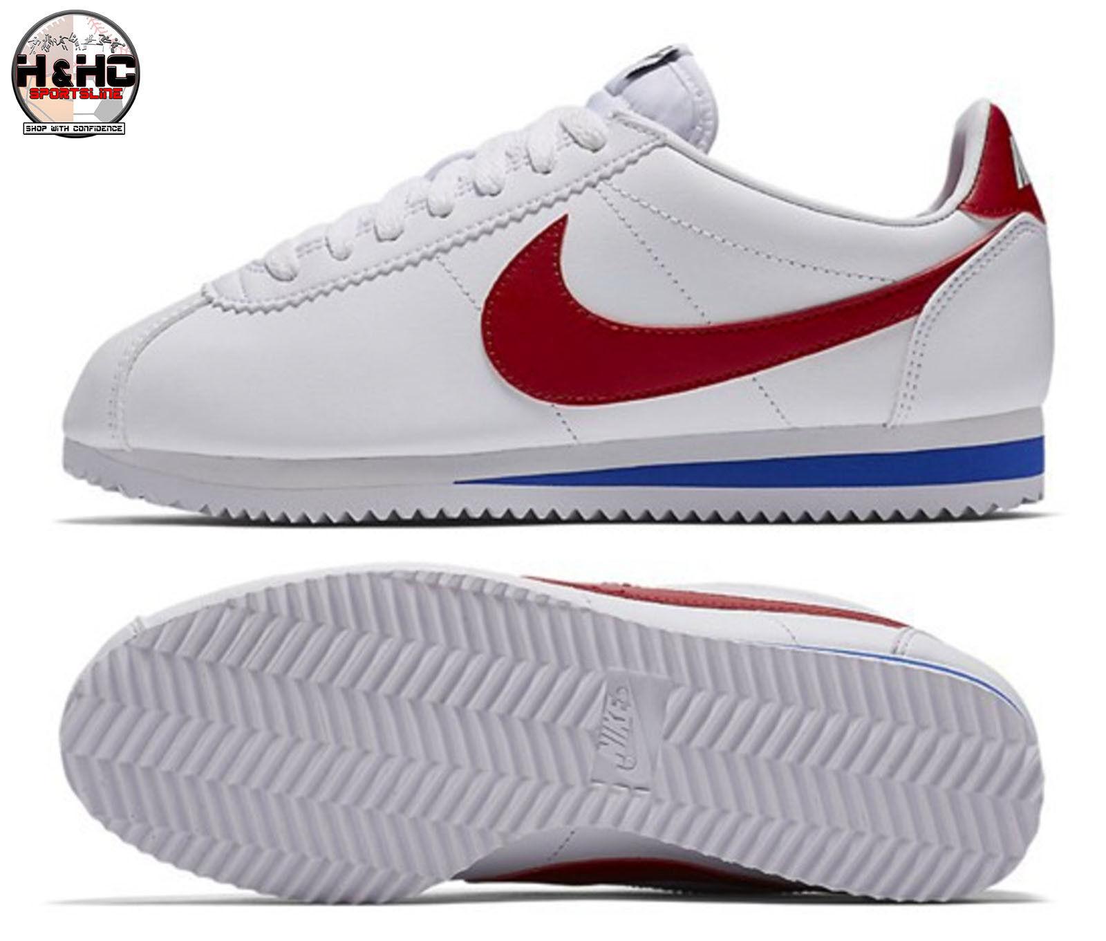 Nike Classic Cortez Leather OG 807471 103 Sz White/Varsity Red Women's Shoes Sz 103 11 aaaff5