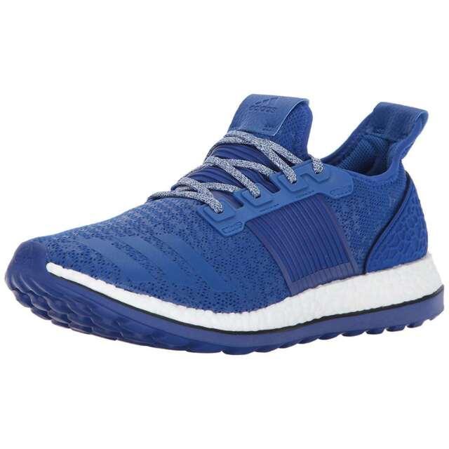 e645f8423e3 Mens ADIDAS PUREBOOST ZG Running Shoes Blue Sneakers BA8456 NEW