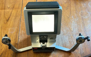 Rare-Vintage-Elmo-Editor-912-8mm-Super-8-Dual-Cine-Film-Editor-Viewer-WORKING