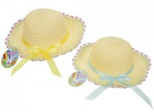 Design moderne 100% de qualité supérieure magasins d'usine Details about Easter Arts Craft Bonnet Egg Hunt - Bonnet Summer Hat with  Ribbon