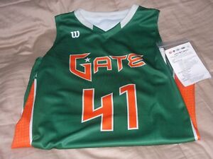 hot sale online 4658b 3ebfe Details about Florida Gator Wilson Basketball Jersey Size WOMENS MEDIUM  NCAA CUSTOM JERSEY NWT