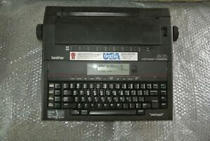 Brother AX-25 Portable Electric Typewriter DOESN'T POWER ON--PARTS--