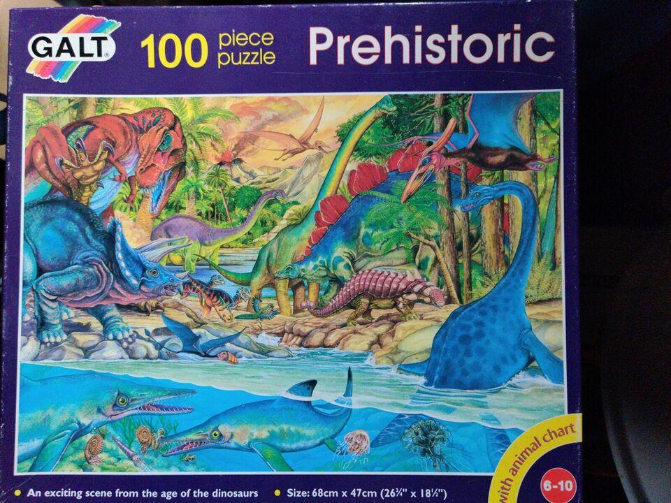 Prehistoric, puslespil