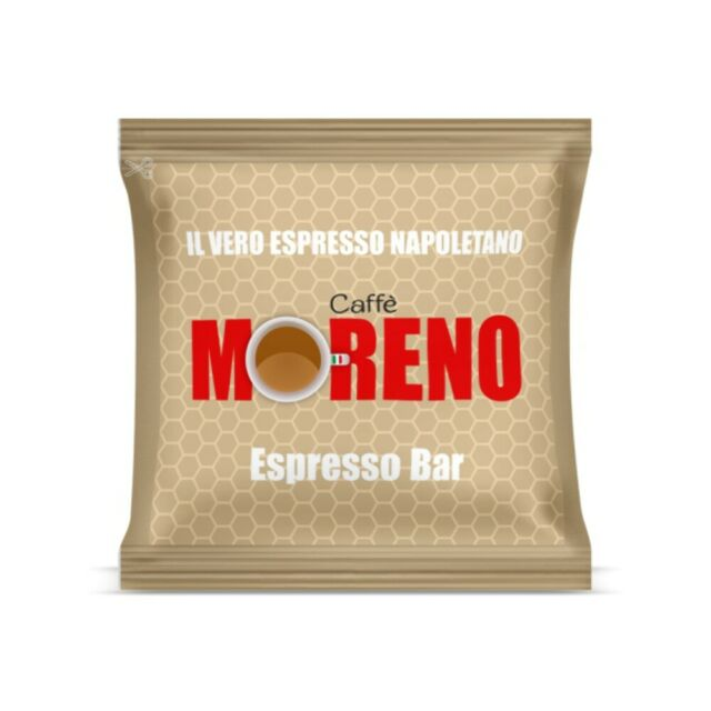 CAFFE' MORENO 300 CIALDE IN CARTA ESE 44MM ESPRESSO BAR GRANDE OFFERTA