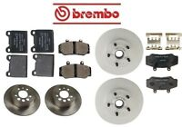 Volvo 760 1983-1987 Complete Disc Brake Rotors Kit & Pads Best Quality on sale