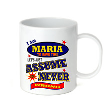 Coffee Cup Mug Travel 11 15 I Am Megan Let/'s Just Assume Never Wrong